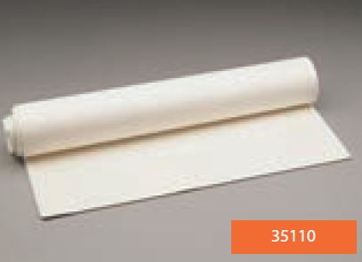 Lámina de espuma de PVC LUXOFOAM para acolchado de férulas adhesiva no perforada 49 cm x 97 cm x 3 mm