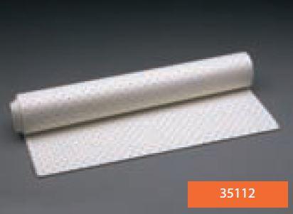 Lámina de espuma de PVC LUXOFOAM para acolchado de férulas adhesiva perforada 49 cm x 97 cm x 3 mm