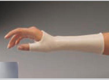 Férula precortada ORFIT COLORS NS (Antiadherente) plateado larga de muñeca con pulgar incluido Talla: L 2.0 mm. micro perforada