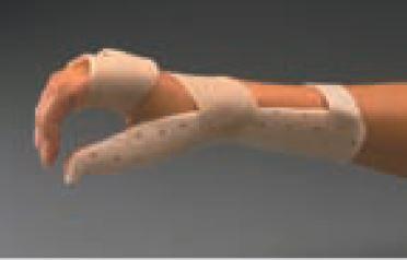 Férula precortada ORFIT CLASSIC de reposo para artritis reumatoide Talla: L 3.2 mm. mini perforada