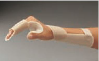 Férula precortada ORFIT CLASSIC reposo musculatura intrínseca Talla: M 3.2 mm. no perforada