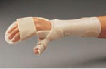 Férula precortada ORFIT CLASSIC antiespástica con pieza para el pulgar Talla: M 3.2 mm. no perforada