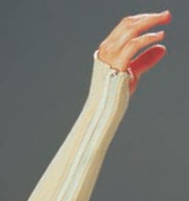 Férula precortada con cremallera ORFIZIP NS para muñeca 2.0 mm. maxi perforada Talla: L