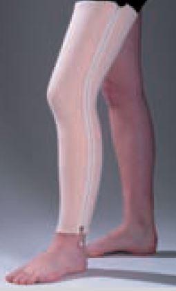 Férula precortada con cremallera ORFIZIP para rodilla 2 mm. mini perforadaTalla: M