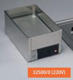 Bañera y calentador de material SUSPAN 2capacidad 10 l. 295 x 500 x 100 mm. (220 V)